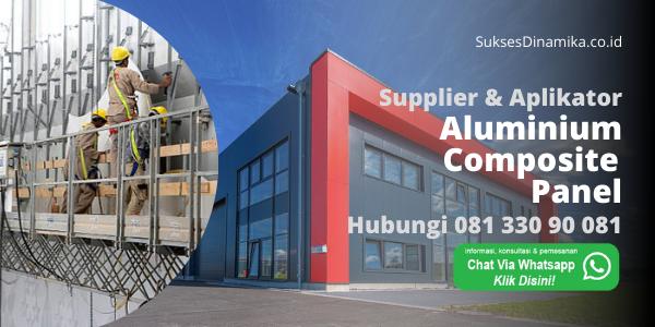 Jasa Aluminum Composite Panel Jiyu Demak, ACP Marks Seven